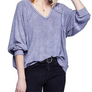 NWT Free People Take It Off Pullover Top Slouchy